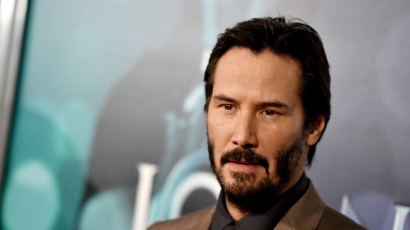 "Keanu Reeves (in 2014) could go back in time with ""Bill"