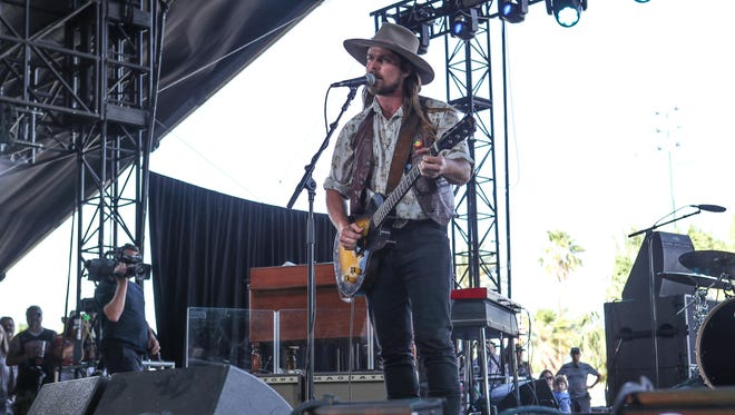 Lukas Nelson & Promise of the Real, shown playing at the 2018 Stagecoach Country Music Festival in Indio, will return next April for the Garden Jam Music Festival in Indian Wells. Jay Calderon/The Desert Sun