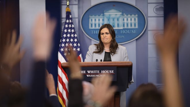 White House spokeswoman Sarah Sanders says her expulsion from a Red Hen restaurant says more about the owner than her.