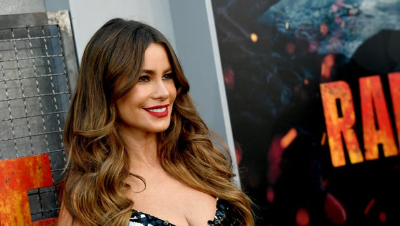 Actress Sofia Vergara at a movie premiere in April.