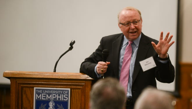 Jim Mahoney, executive director at Battelle for Kids, spoke about leadership in the classroom Friday morning at the University of Memphis Lambuth Campus' Beyond Boundaries, an interactive forum to discuss education and economic development in rural areas.