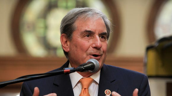Congressman John Yarmuth makes comments during TARC's 40th Anniversary celebration.