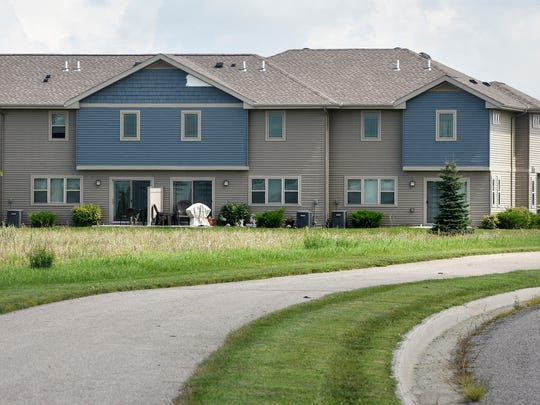 The affordable housing development Burl Oak Townhomes
