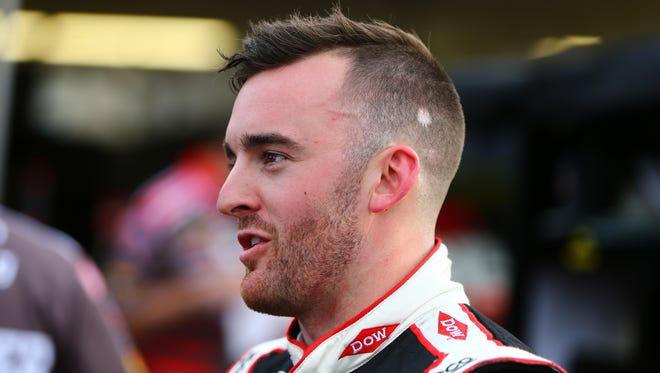 Austin Dillon during qualifying for the Good Sam 500 at Phoenix International Raceway.