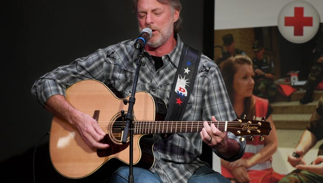 Country Music recording artist Darryl Worley gives a guest performance during the Mid-West Tennessee Chapter of The American Red Cross'  Heroes Luncheon, Tuesday, May 29.