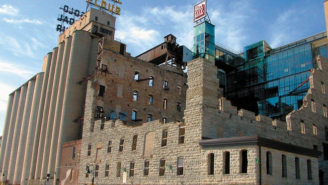 The Mill City Museum is built into the limestone ruins of what was once the world's largest flour mill in Minneapolis.