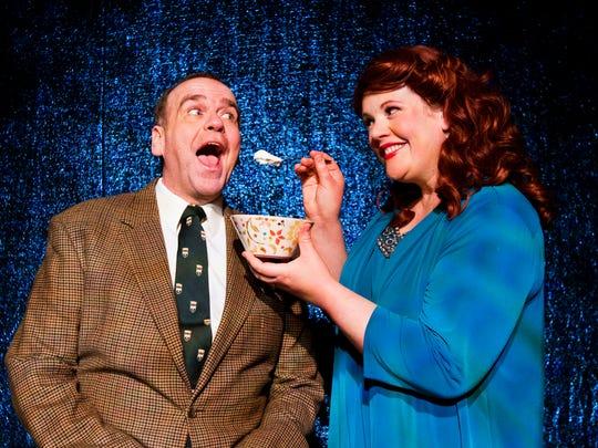 """Paul Kerr and Elizabeth Loos is """"Skin Deep"""" at Derby Dinner Playhouse."""