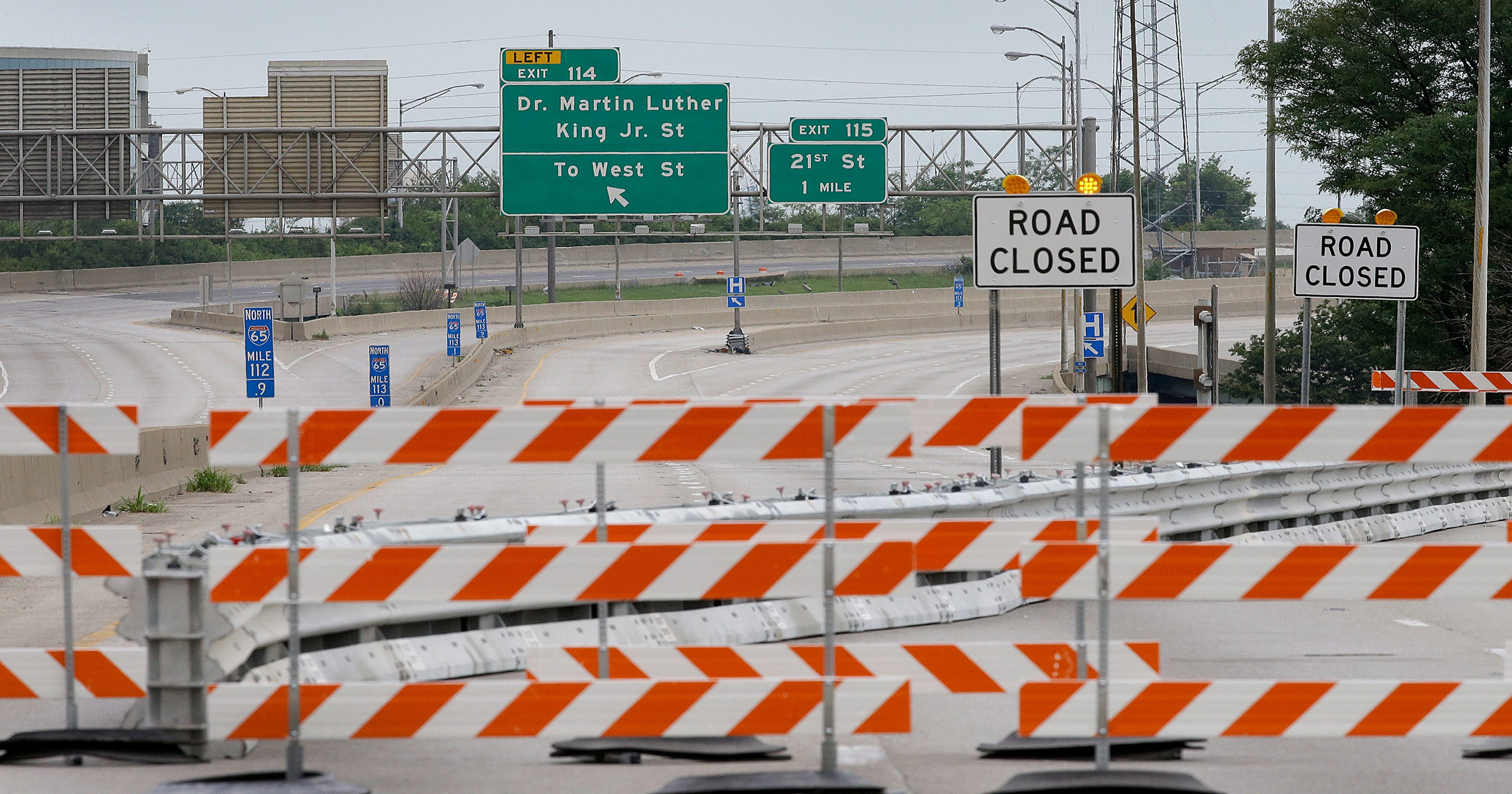 Interstate 465 to close on southside this fall for bridge repairs