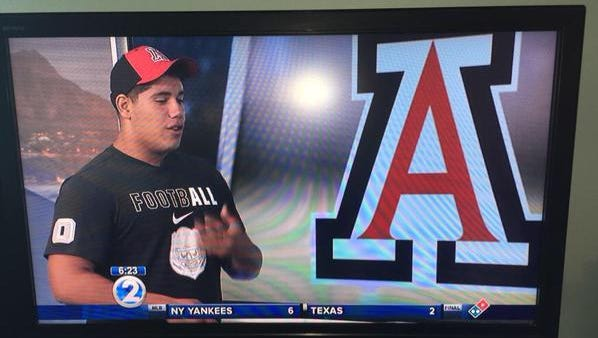 Michael Eletise, Scout.com's No. 1 ranked offensive guard in the West, committed to Rich Rodriguez and the UA during a live broadcast of the local news in his hometown of Honolulu, Hawaii.