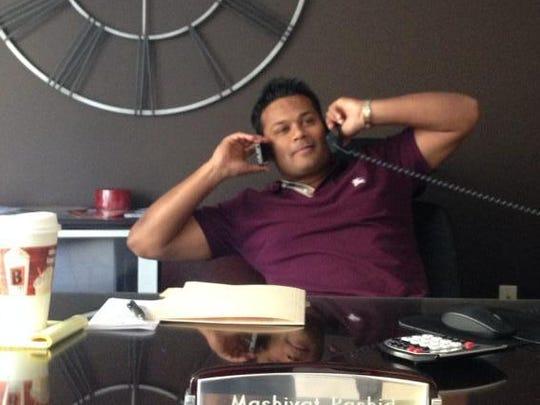 Mashiyat Rashid is a venture capitalist, his lawyer