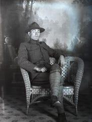 1. World War I soldier