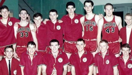 The 1966 basketball team will be inducted into the Cumberland Sports Hall of Fame.