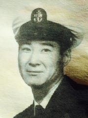 Andy Kim served in the Navy from 1944 to 1969.