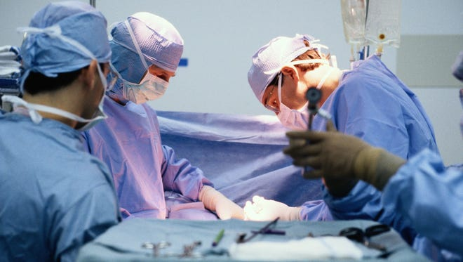Stock image of a Surgery