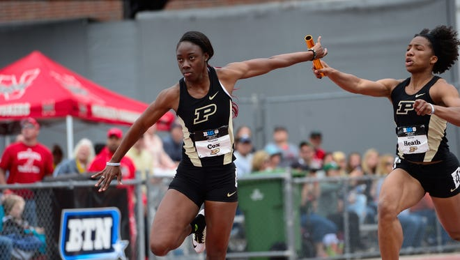Purdue's Carmiesha Cox will represent the Bahamas on the Olympics in Rio