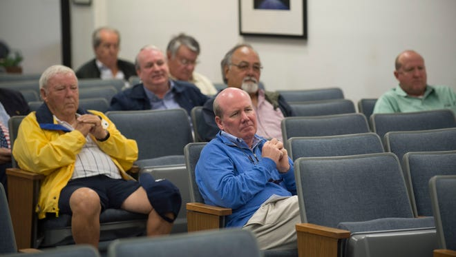 Members of the public attended the Martin County Commission meeting Tuesday, Dec. 12, 2017 at the Martin County Administration building in Stuart.