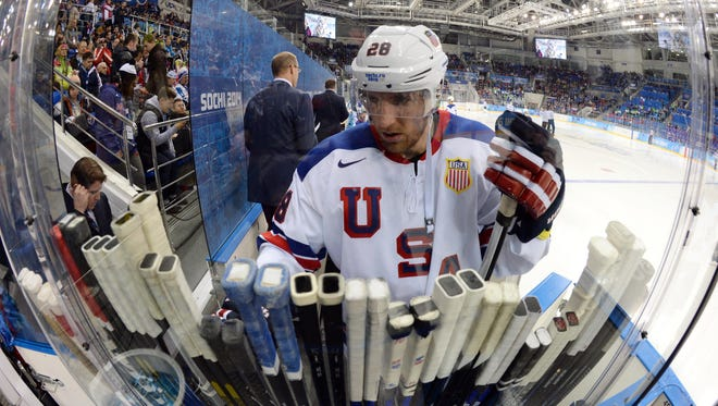 Blake Wheeler, who played in Sochi, could be one of the Team USA veterans at the 2022 Games in Beijing.