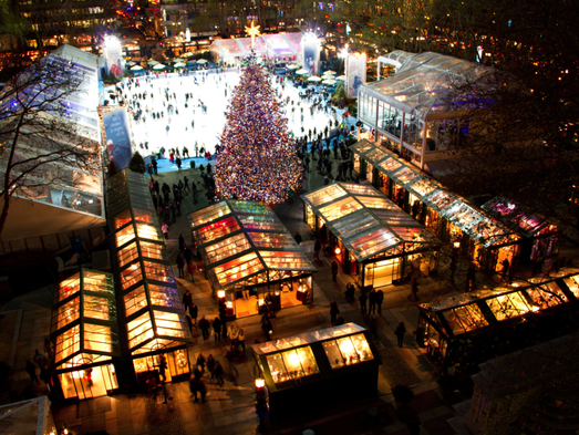 10best places to see holiday lights in nyc for Best places to visit over christmas in the us