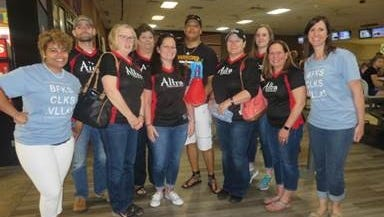 Big Brothers Big Sisters' trademark fundraiser Bowl For Kids' Sake provides companies with a meaningful team-building opportunity while raising money for charity. The Altra All Stars won highest fundraising team in the 1 p.m. hour of the event, held Saturday, May 12.