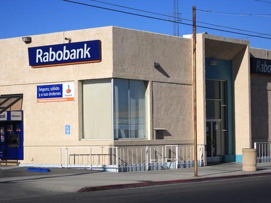The Coachella branch of Rabobank.