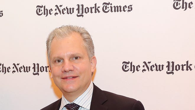 New York Times Publisher Arthur Sulzberger  attends the New York Times Cities for Tomorrow Conference on April 22, 2014.