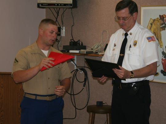 File photo from October 2006:  Lance Corporal Willard