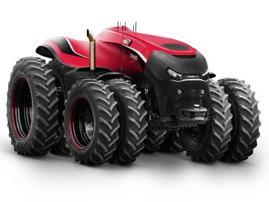 Case concept tractor