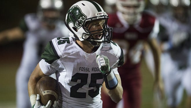 Fossil Ridge's Ryan Cronin leads the team with two interceptions. The SaberCats host Lakewood in the final nonconference game of the season at 6 p.m. Thursday.