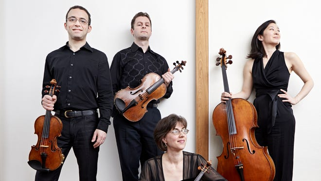 The Brentano String Quartet will perform the music of Haydn and Beethoven on May 16.
