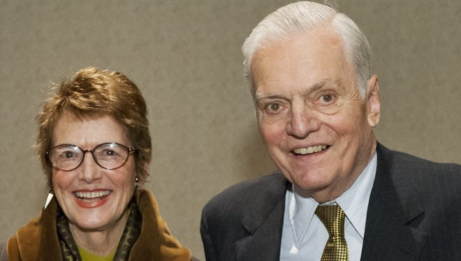 Former Corning Inc. Chairman James Houghton and his wife, Maisie, donated nearly 200 acres of property to the Finger Lakes Land Trust.