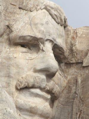 Roosevelt at Mount Rushmore