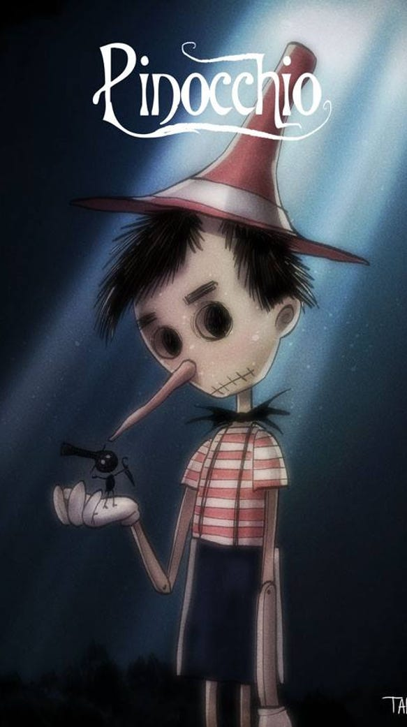 What If Tim Burton Directed Your Favorite Classic Disney