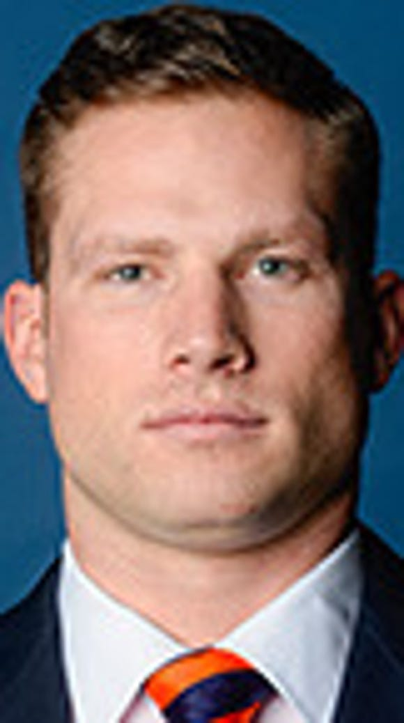 Auburn graduate assistant Blake Gideon has accepted