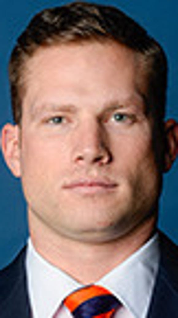 Auburn graduate assistant Blake Gideon has accepted same position at South Carolina.