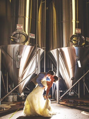 Couples can get married for free at Lakefront Brewery, one of a handful of Valentine-related beer events to enjoy.