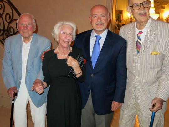 Don and Frances Zadeck, Dr. G.E. Ghali and Delton Harrison