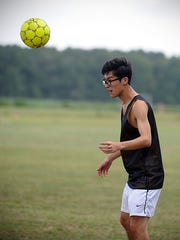 Dong Kim scored 17 goals for Holly Grove as a junior.