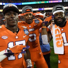It's 'a sad day' for any opponent that underestimates talented, unproven Clemson receivers