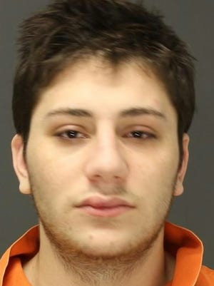David Mizrachi of Monsey was charged with robbery of the Route 17 Gulf gas station convenience store and heroin possession in Mahwah, New Jersey.