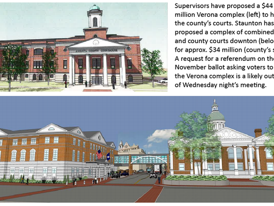 County voters may be asked to move courts to Verona.