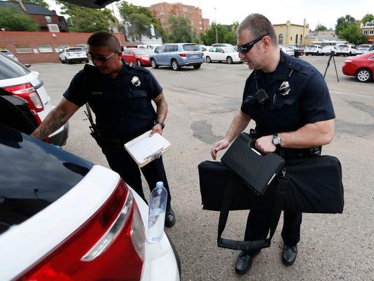 Denver Police Department officers in District 6