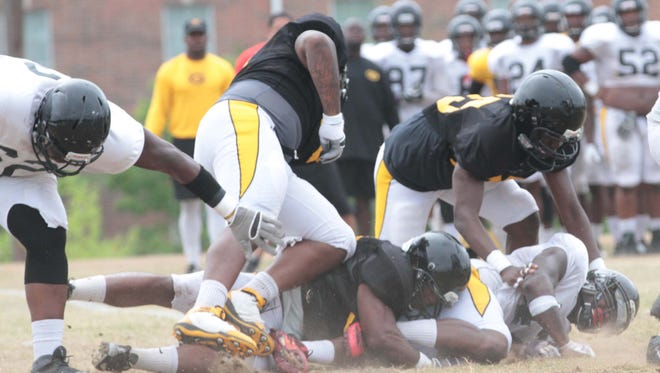 Grambling put together a productive day Saturday during the team's second scrimmage of fall camp.
