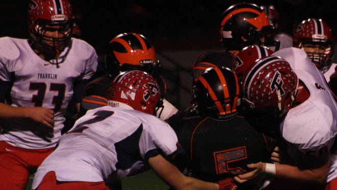 Livonia Franklin's defense came up big during the second half of last week's 63-35 victory over Jackson.