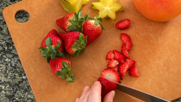 Your cutting board is probably disgusting, so replace