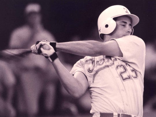 Brooks Kieschnick graduated from Carroll High School in 1990 and played for the University of Texas Longhorns where he won the Dick Howser Trophy twice.