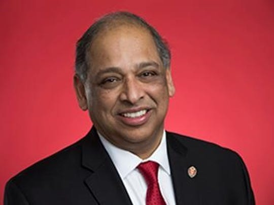 Neville Pinto, the University of Cincinnati's new president