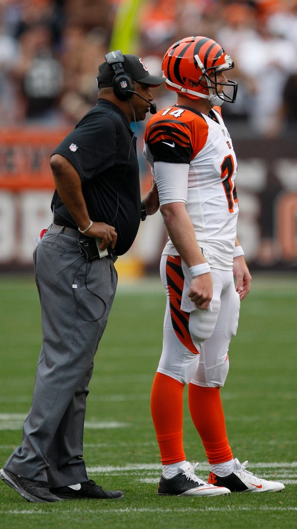 Marvin Lewis spouted his support for getting a long-term deal done with Andy Dalton on Tuesday.