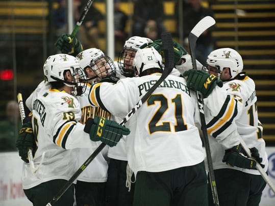 NCAA: Hockey Cats Face Test In Nonconference Finale