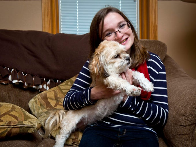 Alexis McCaughey is photographed at home on Nov. 13,