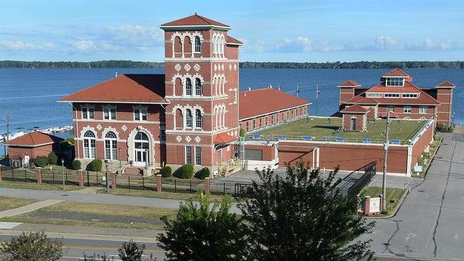 The Erie Water Works John J. McCormick Administration Building is shown on Thursday in Erie.
